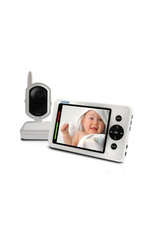 "Luvion GRAND ELITE Video Niania 3,5"" - World thinnest babymonitor!"